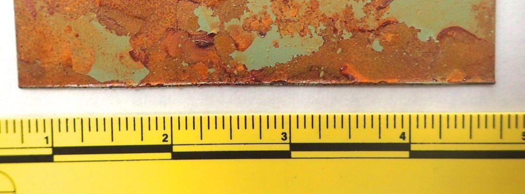 ASTM B117 Salt fog testing of coated metal samples by G2MT Labs